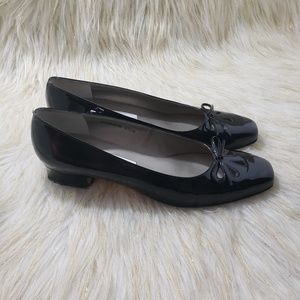 Ros Hommerson Patent Leather Loafers Size 9.5